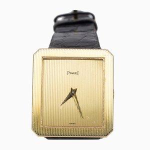 Reloj de pulsera vintage de oro de 18 k de Piaget, años 80