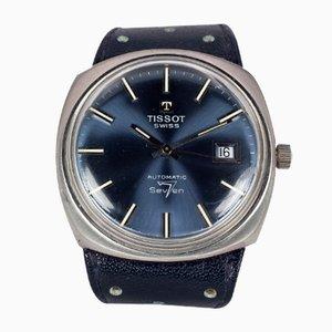Orologio da polso vintage 7 automatico in acciaio di Tissot, anni '70