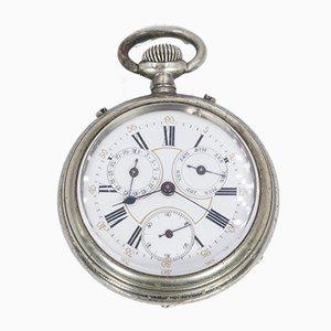 Orologio da taschino antico in metallo, XIX secolo