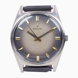 Montre-Bracelet Vintage en Acier de Zenith, 1970s
