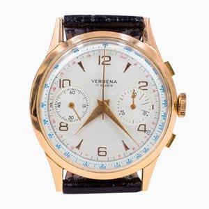 Cronografo in oro 18k di Verbena, anni '60