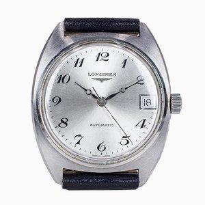 Orologio da polso vintage automatico in acciaio di Longines, anni '60