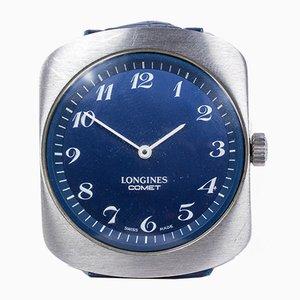 Comet Steel Wrist Watch from Longines, 1970s