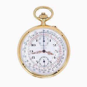 Chronographe de Poche en Or 18k de Longines, 1912