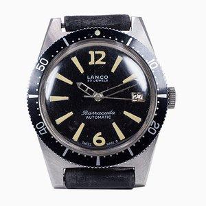 Reloj automático Barracuda Divers de acero de Lanco, años 60