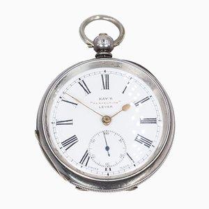 Silver Key Pocket Watch