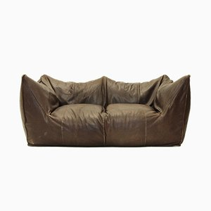 Le Bambole Italian Leather Sofa by Mario Bellini for B&B