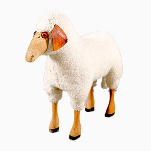 Vintage German Dolly Sheep from Schäfer, 1960s