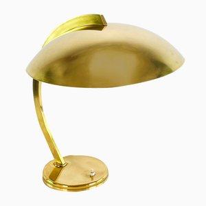 Bauhaus Brass Desk Lamp from Hillebrand Lighting, 1930s