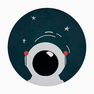 Runder Astroman Teppich von Covet Paris