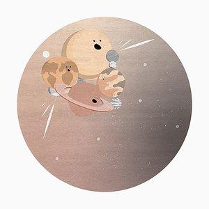 Tappeto IV Planets rotondo di Covet Paris