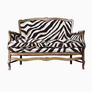 Ralph Lauren Zebra Loveseat