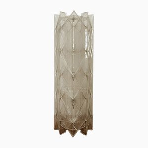 French Nylon Thread Floor Lamp, 1960s