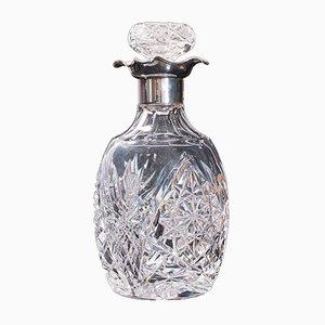 Vintage German Cut Glass Drinks Decanter, 1970s