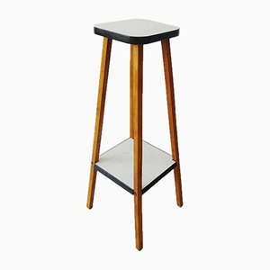 Wood & Formica Plant Stand, 1960