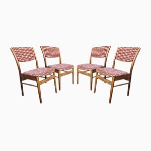 Vintage Chairs from Zamość, 1950s, Set of 4
