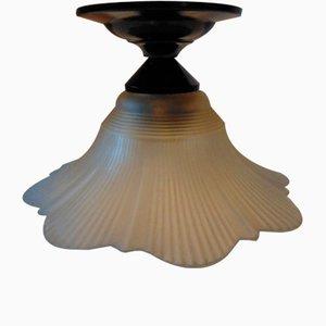 Lampada da soffitto Art Déco in bachelite, anni '40