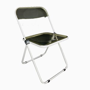 Plia Folding Chair by Giancarlo Piretti for Castelli Italy, 1960s
