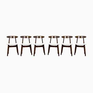 Model 5912 Chairs from Zamojskie Fabryki Mebli, 1960s, Set of 6