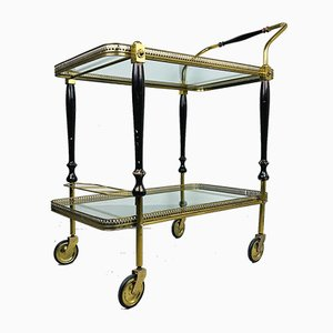Vintage Retro Serving Bar Cart and Trolley by S.W., Germany, 1950s