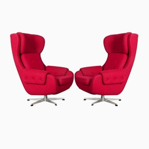 Armchairs from UP Závody, Set of 2