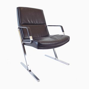 FK 711 Lounge Chair by Preben Fabricius & Jørgen Kastholm for Walter Knoll / Wilhelm Knoll