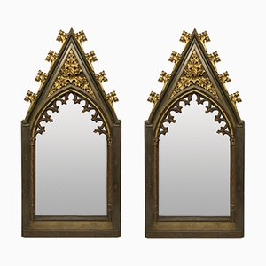Big Early 19th Century Gothic Mirrors, Set of 2