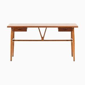 JH-563 Desk by Hans Wegner for Johannes Hansen, Denmark