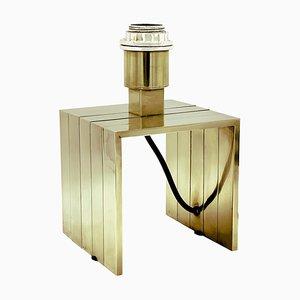 Messing Tischlampe von Fratelli Martini, 1970er