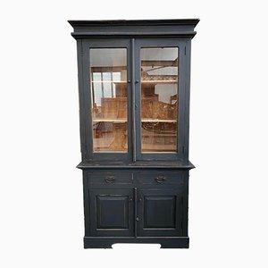 2-Piece Showcase Cabinet in Teak