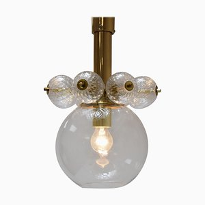 Mid-Century Pendant Lamp from Kamenicky Senov, 1970s