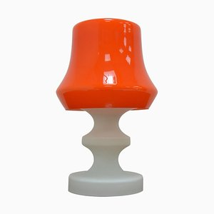 Mid-Century Solid Glass Table Lamp by Ivan Jakes, 1970s