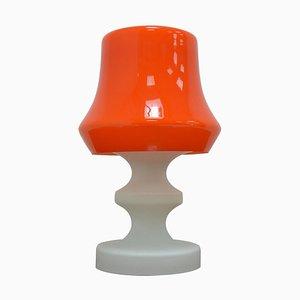 Mid-Century Tischlampe aus Massivem Glas von Ivan Jakes, 1970er