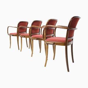 Chaises de Salon de TON, 1988, Set de 4