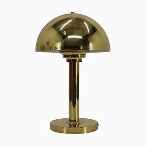 Vintage Gold Lamp, Czechoslovakia, 1980s