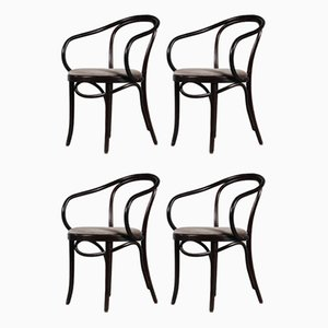B9 Dining Chairs from Thonet, France, 1970s, Set of 4