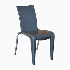 Louis 20 Chair in Grey without Armrests by Philippe Starck for Vitra