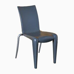 Louis 20 Stuhl in Grau ohne Armlehnen von Philippe Starck für Vitra