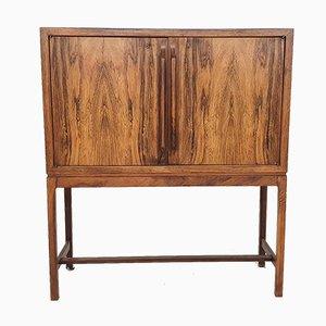 Rosewood Bar Cabinet by Torbjørn Afdal for Mellemstrands Møbelfabrik, Norway, 1960s