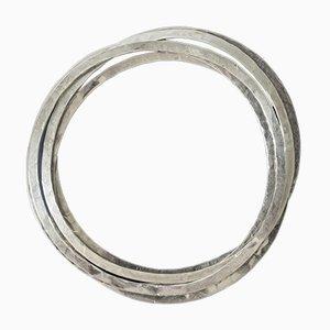 Silver Bracelets by Rey Urban, Set of 5