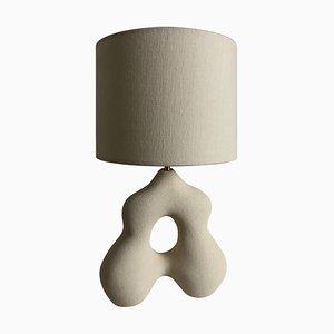 Alexandrine Hand-Sculpted Lamp by Hermine Bourdin