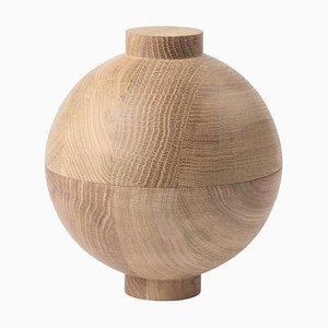 Large Oak Sphere by Kristina Dam Studio