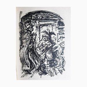 Alfred Leopold Isidor Kubin, Die Majoratsherren, Rare Book Illustrated, 1922