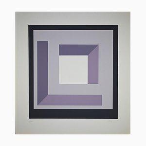Nato Frascà, Square Composition, Screen Print, 1974