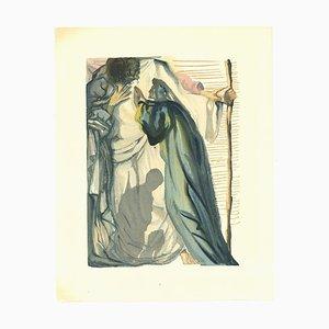Salvador Dalí, The Blind of Envy, Woodcut Print, 1963