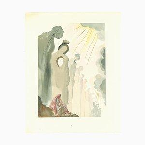 Salvador Dalí, The Second Gesims, Holzschnitt, 1963