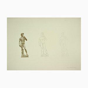 Ketty La Rocca, David, Lithograph, Late 20th Century