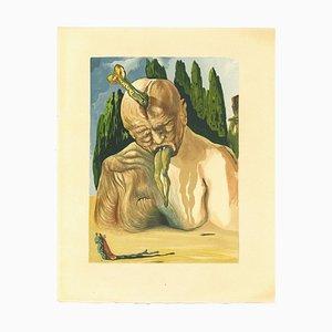 Salvador Dalí, The Devil Logician, Holzschnitt, 1963