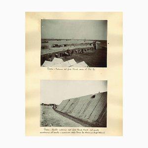 Unknown, Ancient Views of Taku Forts, Albumen Druck, 1880er-1890er