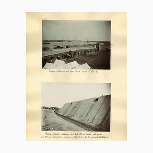 Vues Inconnues des Forts Taku, Impression Albumine, 1880s-1890s
